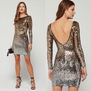 NWOT! Ombré Sequin Dress 💛